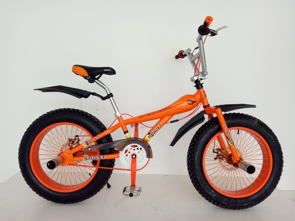 BMX-2011  4.0 fat tire freestyle bike