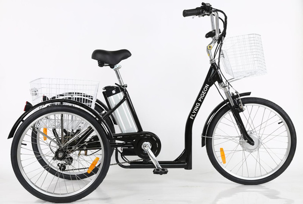 "24"" Low Step Electric Trike(FP-ETRK1903)"